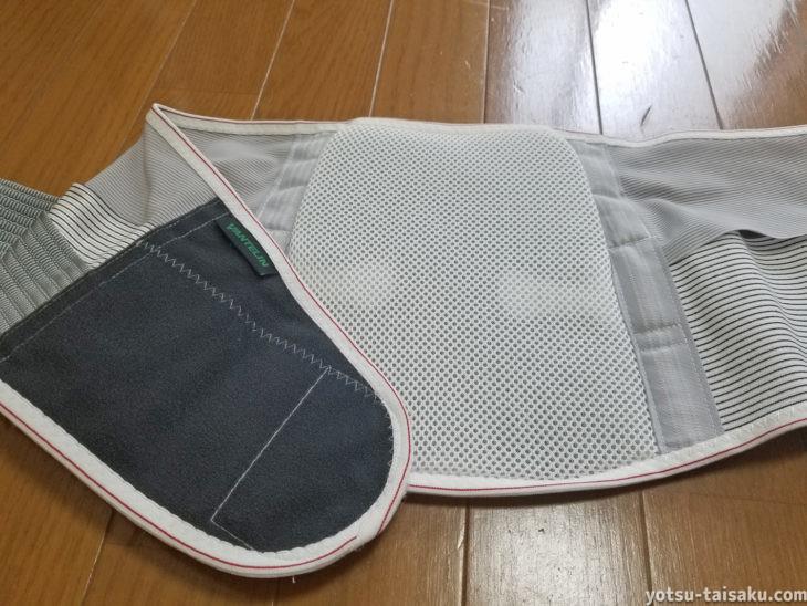 バンテリンサポーター腰椎コルセットの素材