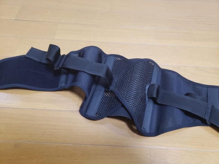 コナミスポーツクラブ-腰椎固定ベルトパワフルギアワイドタイプの素材